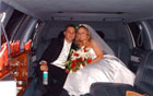The perfect limousine for the perfect Daytona Beach wedding